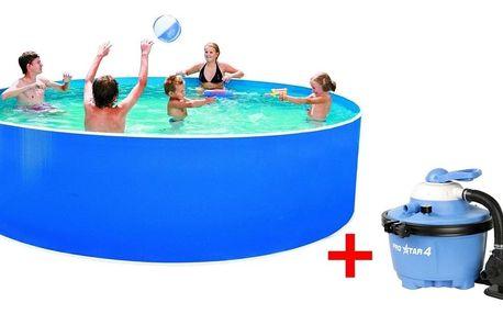 Marimex | Bazén Orlando 3,66x0,91 m s pískovou filtrací ProStar 4 a příslušenstvím | 19900044