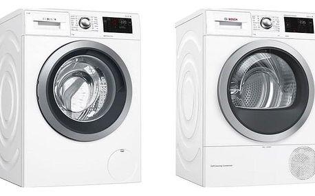 Set Bosch - pračka WAT286H1BY + sušička WTWH761BY