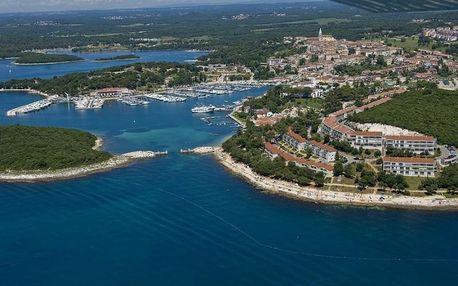 Chorvatsko - Istrie na 7 až 11 dní, bez stravy nebo snídaně, Istrie