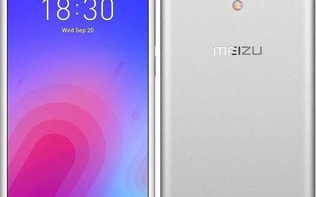 Meizu M6 stříbrný (M711H/16GB/Silver)