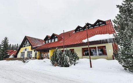 Vysoké Tatry: Hotel Rysy *** blízko skiareálu + polopenze, wellness a aquapark