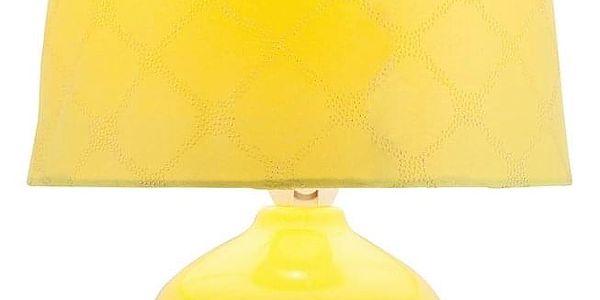 Rabalux 4383 Ellie stolní lampa, žlutá2