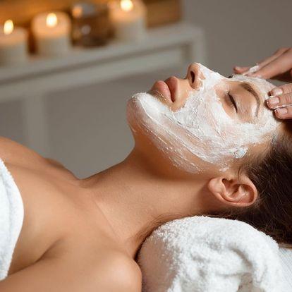 Luxusní kosmetické ošetření s alginátovou maskou