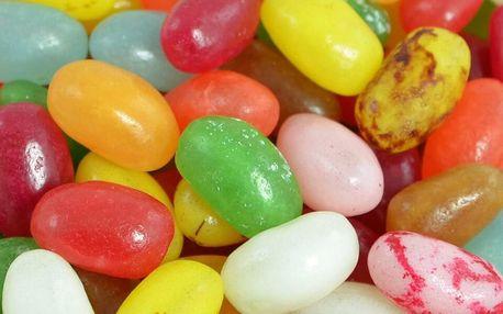 1 kg šťavnatých žvýkacích bonbónů Jelly Beans