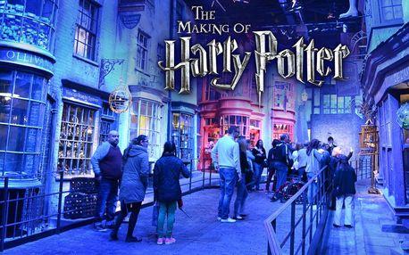 Výlet do Londýna: ateliéry Harryho Pottera