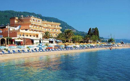 Řecko - Korfu letecky na 8 dnů