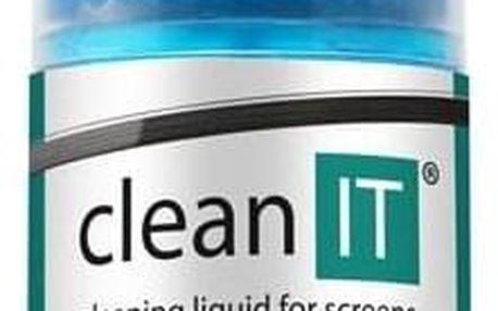 Clean IT na obrazovky s utěrkou ve víčku, 200ml (CL-180)