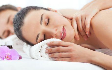 Hýčkání pro 2: párová masáž dle výběru z 5 druhů