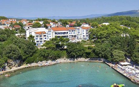 Chorvatsko - Krk na 7 až 10 dní, polopenze s dopravou autobusem, Krk
