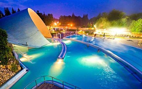 Miskolc Tapolca: Park Hotel *** s polopenzí, neomezeným wellness a půjčením kol