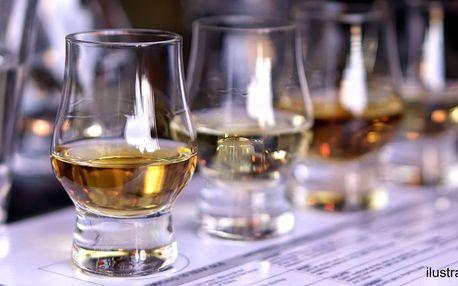 Degustace prémiových rumů pro 1 nebo 2 osoby