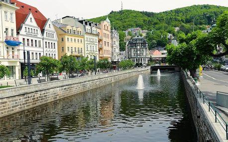Karlovy Vary: pro 2 osoby na 3 dny vč. stravy, vstupu do lázní