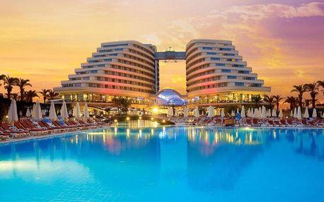 Turecko - Antalya na 8 dní, nebo all inclusive s dopravou letecky z Prahy, Antalya