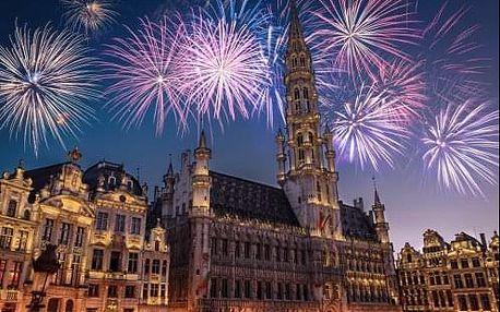 SILVESTR v Belgii - Brusel a Bruggy s ohňostrojem. 4 denní zájezd s průvodcem a ubytovaním
