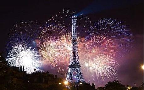 Překrásný SILVESTR v Paříži s prohlídkou města. 4-denní zájezd s ubytováním sekt pro pár