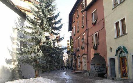 Itálie, Alta Valtellina, vlastní dopravou na 4 dny snídaně
