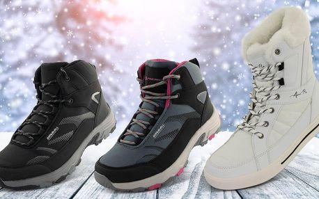 Dámské i pánské outdoor zimní boty Alpine Pro
