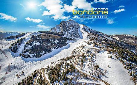 Itálie - Monte Bondone na 5 až 6 dní, polopenze s dopravou autobusem, Monte Bondone