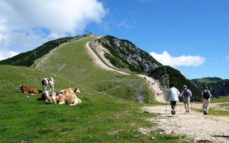 Slovinsko - Julské Alpy na 3 až 4 dny, polopenze, Julské Alpy