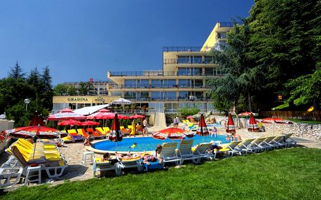 Bulharsko - Zlaté Písky letecky na 8 dnů, snídaně v ceně