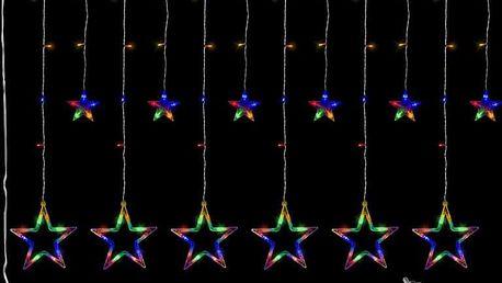 VOLTRONIC® 59574 Vánoční dekorace - svítící hvězdy - 150 LED barevná
