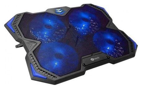 """C-Tech Zefyros, modré podsvícení, pro 17,3"""" (GCP-01B)"""