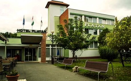 Hotel Komfort Platán, Maďarsko, Termální lázně Maďarsko, Harkány