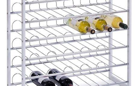 Kovový stojan na víno, alkohol, láhve, ZELLER