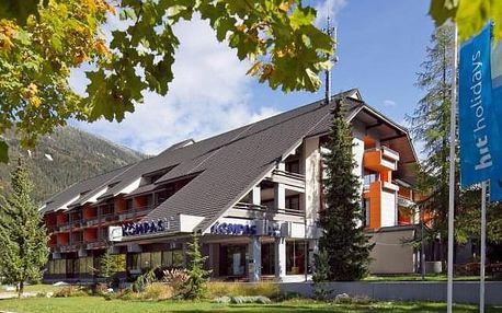 Hotel Kompas, Slovinsko, Hory a jezera Slovinska, Kranjska Gora