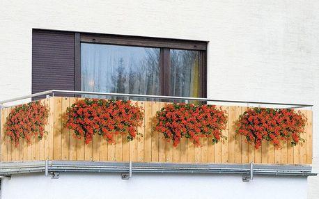 Clona na balkonové zábradlí Květiny - 500 x 85 cm, WENKO