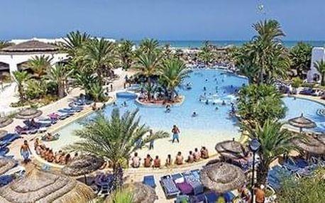 Tunisko - Djerba letecky na 7-8 dnů, strava dle programu