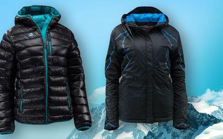 Dámská bunda Alpine Pro a lyžařská bunda Loap