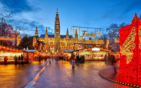 Adventní zájezd do Vídně s nákupy v Primarku