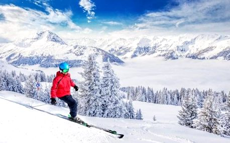 Rakouské Alpy u skiareálů v Hotelu Pruggererhof *** s polopenzí a skibusem