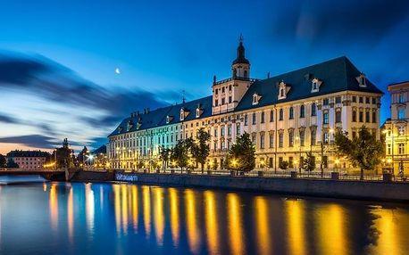 Polsko ve 3* SPA hotelu s neomezeným vstupem do wellness a polopenzí + lahev vína