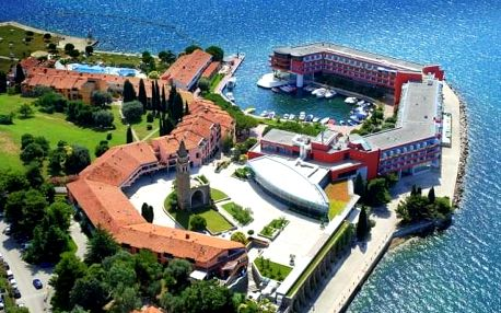 Hotel Histrion, Slovinsko, Dovolená u moře Slovinsko, Portorož