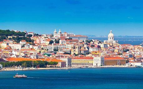 Portugalsko letecky na 8 dnů, polopenze