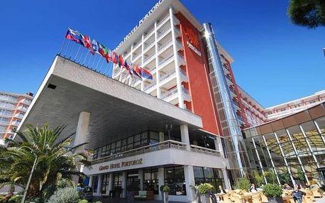 Grand hotel Portorož, Slovinsko, Dovolená u moře Slovinsko, Portorož