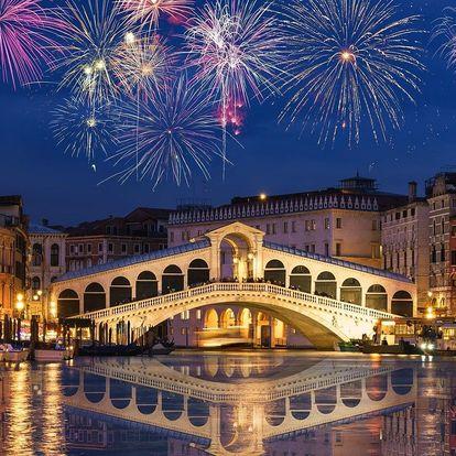 Magický Silvestr v Benátkách s dopravou autobusem