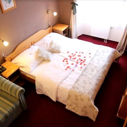 Romantický balíček v zařízení Panství Bechyně - hotel Panská
