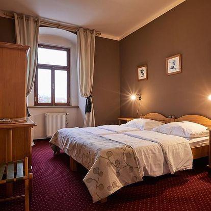Prodloužený pobyt 50+ (2+1 zdarma) v zařízení Panství Bechyně - hotel Panská