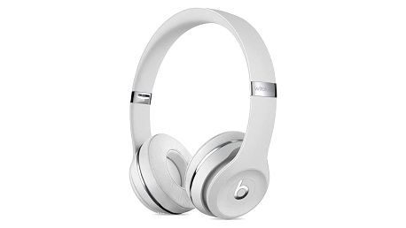 Beats Solo3 Wireless On-Ear - saténově stříbrná (MUH52EE/A)