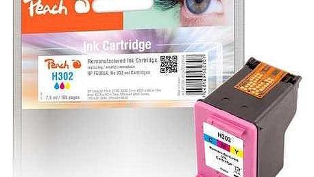Peach HP 302,180 stran, kompatibilní červená/modrá/žlutá (319604)