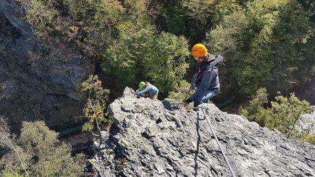Zážitkové lezení: Via Ferrata na břehu řeky Lužnice