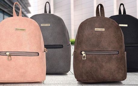 Elegantní dámské batohy se zlatými detaily