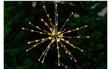 OEM Vánoční osvětlení - meteorický déšť - teplá bílá, 40 cm 80 LED D33215