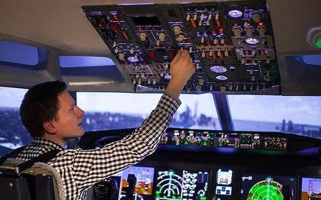 Let na simulátoru v Boeingu 737MAX