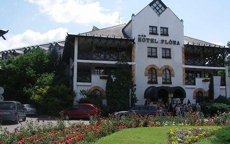 Hotel Flóra, Maďarsko, Termální lázně Maďarsko, Eger