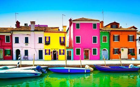 Benátky a ostrov krajek Burano, Poznávací zájezdy - Itálie