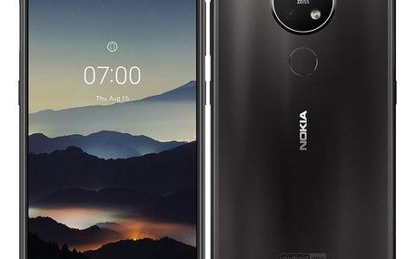 Mobilní telefon Nokia 7.2 Dual SIM (6830AA002960) černý + DOPRAVA ZDARMA